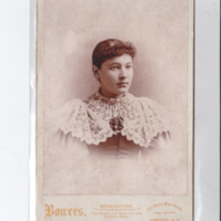 Mary E. Westgate Chellis, taken between 1890-1900.