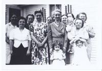 Group portrait of women and children.